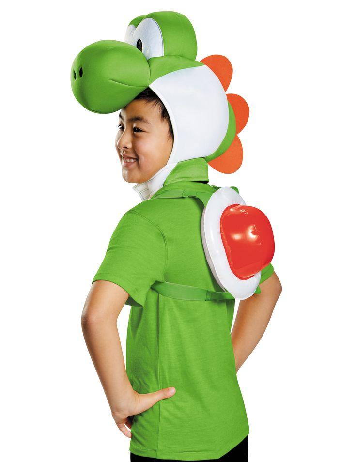 Yoshi™ Kostüm-Set für Kinder Nintendo™ Lizenzartikel grün-weiss-rot , günstige Faschings  Kostüme bei Karneval Megastore, der größte Karneval und Faschings Kostüm- und Partyartikel Online Shop Europas!