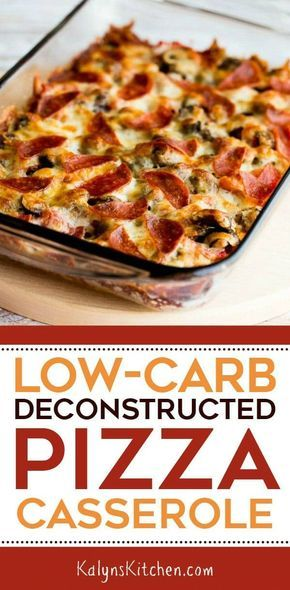 Low-Carb Deconstructed Pizza Casserole (Video)