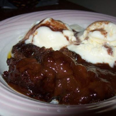 Cracker Barrel Chocolate Cobbler @keyingredient #chocolate