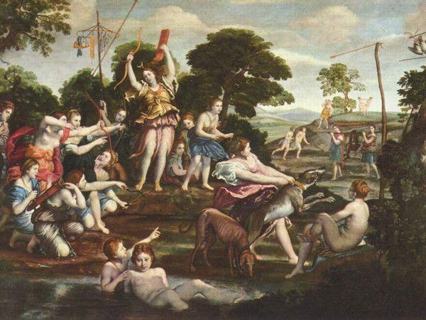Caccia di Diana di Domenichino - Descrizione dell'opera e mostre in corso - Arte.it