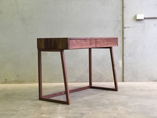 Mr Atkins Desk by CHRISTOPHER BLANK - Desk, American Walnut