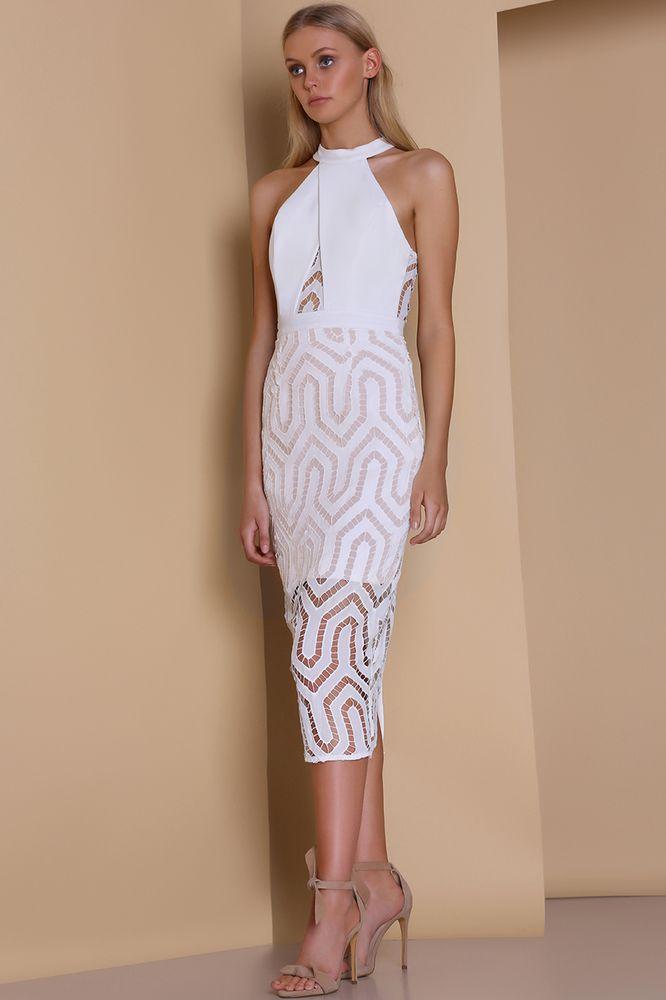 Premonition - Ornate Midi Dress