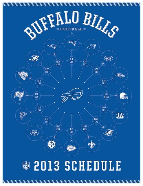 Buffalo Bills 2013 Schedule