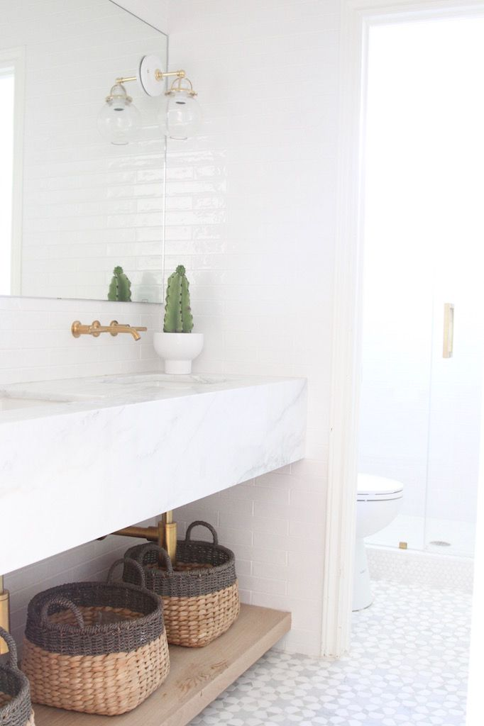 BECKI OWENS--Arboles Project Bathroom Reveal! We're sharing details and sources today on the blog😘.