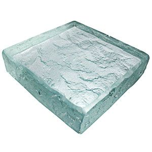 Heavy Glass. Glass: Low Iron. Pattern: Rocky Mountain.