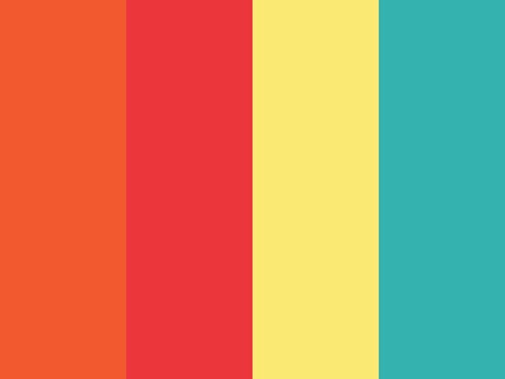 金赤|シグナルレッド|刈安色|ナイルブルー