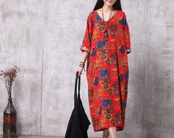 Casual kleding losse Fitting Oversized katoen lange door deboy2000