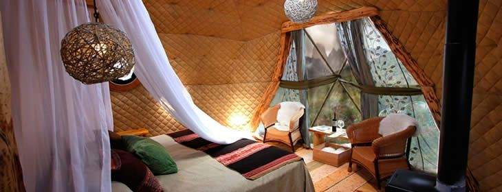 The ultimate GLAMPING experience - EcoCamp at Torres del Paine National Park Chile
