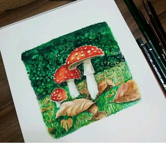 Watercolour @cizgiliyorum