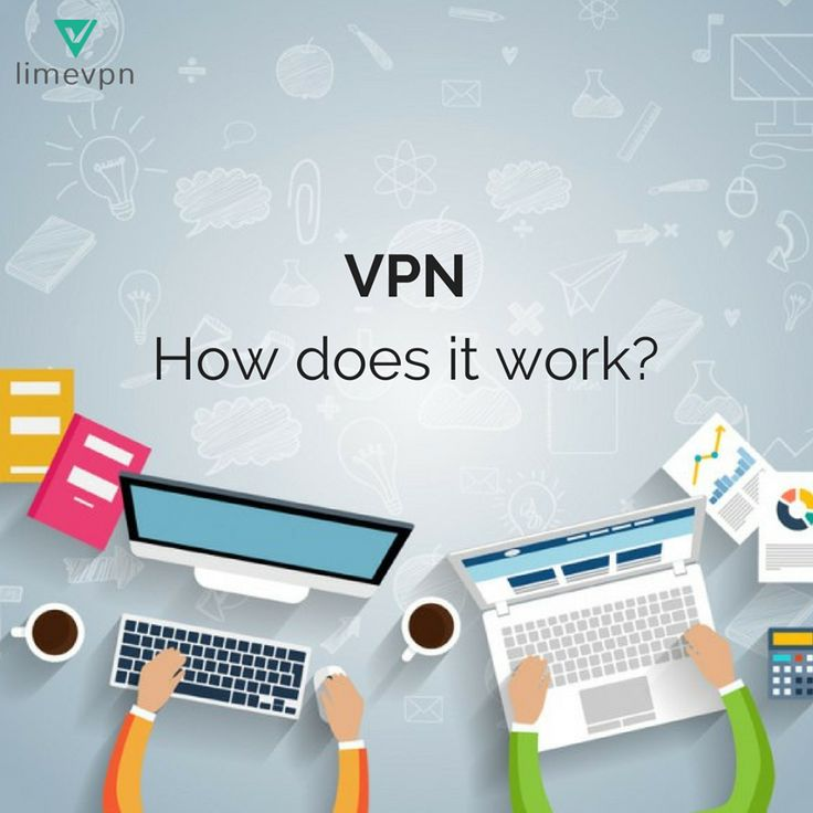 Know how actually a VPN works.
