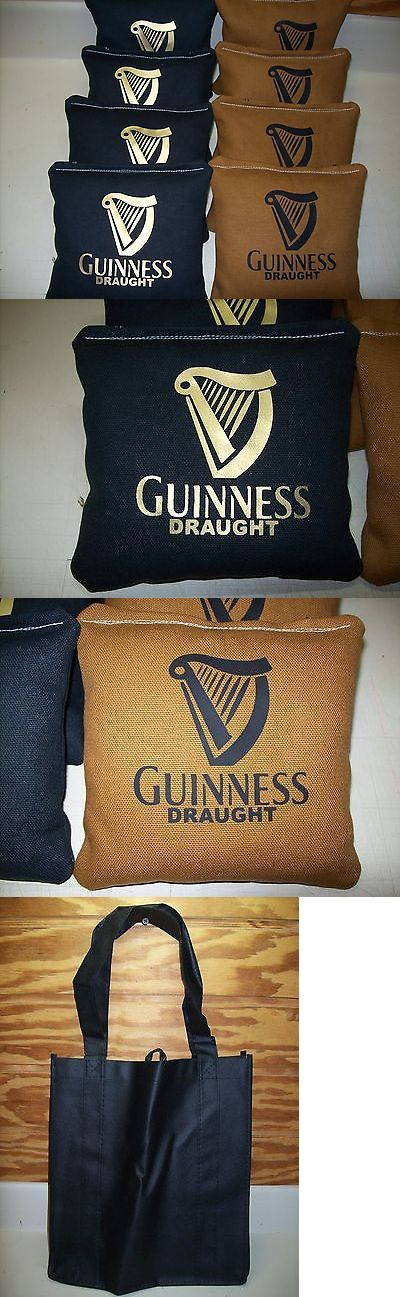 Cornhole Bag Toss 79791: Guinness Draught Beer 8 Custom Cornhole Bags Free Black Tote. -> BUY IT NOW ONLY: $37.89 on eBay!