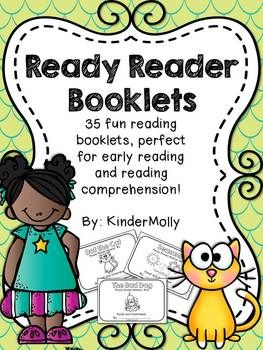 {Ready Reader Booklets} - Reading Comprehension for emergi