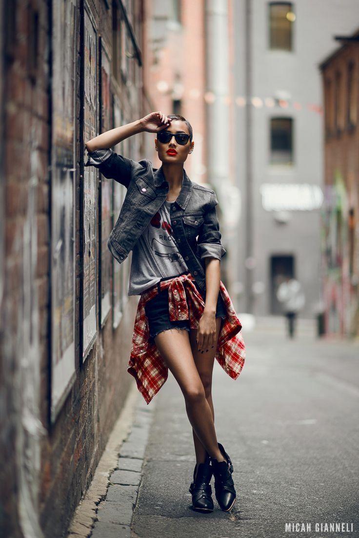 Street Wear Pose , Alley