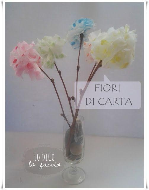Come fare dei fiori di carta [igienica] #make #flower #paper