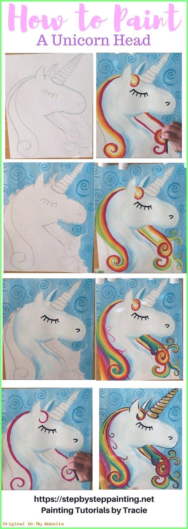 art drawings tumblr - wie man ein regenbogen-einhorn malt