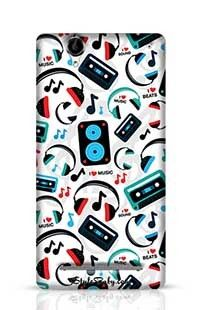 Music Lovers Sony Xperia T2 Phone Case