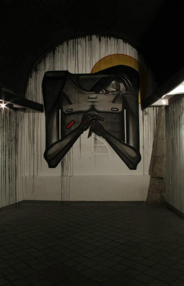 At Дзиґа gallery Sergiy Radkevych