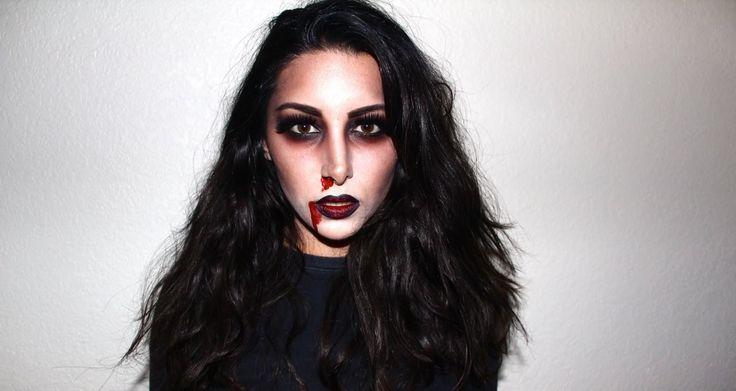 Zombie Girl Halloween Makeup Tutorial