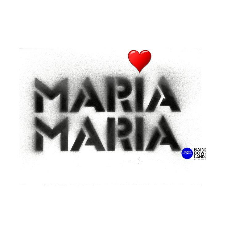 #logo of our #MUSIC #mariamaria #brand which is full of #love for #life, #compassiom and #trust ❤️