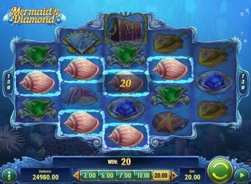 Mermaid's Diamond в онлайн казино с выводом денег  %ANNOUNCE  http://casinopays.net/mermaids-diamond