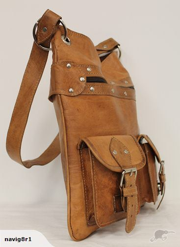 Moroccan Sunset100 Leather Handmade Shoulder Bag by MoroccanSunset, $130.00