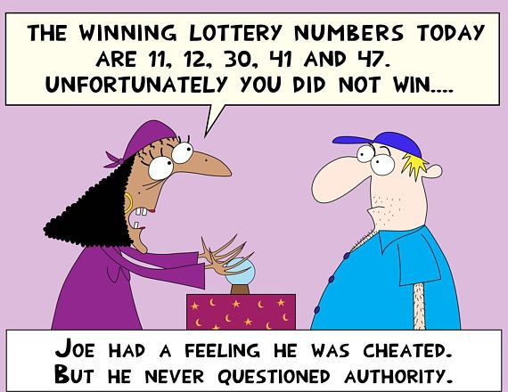 Gypsy is telling the winning lottery numbers with crystal ball