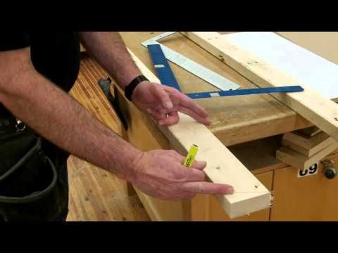how to layout gable rafters - Bing video