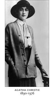 Agatha Christie  1890 - 1976  Agatha Christie is the world's best-known mystery writer. Her books have sold over a billion copies in the English language and another billion in over 45 foreign languages. She is outsold only by the Bible and Shakespeare.