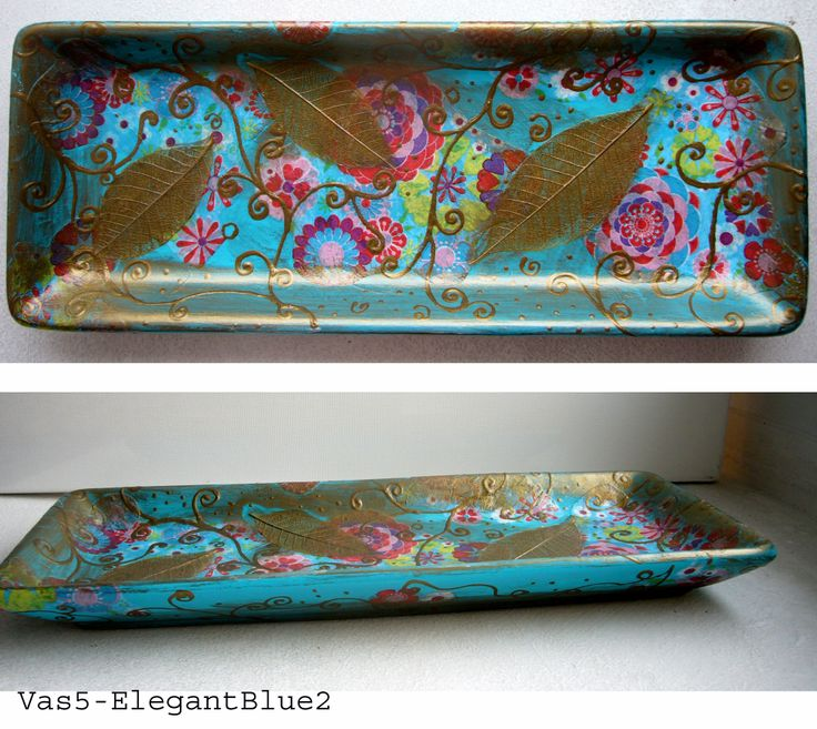 "Plate  ""Elegant Blue 2"""