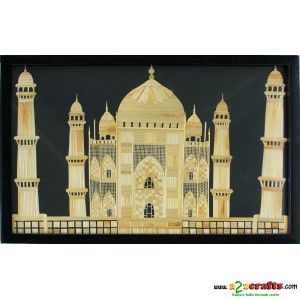 Wheat straw Tajmahal - Rs 3,850 - Hand Made Crafts - Buy & Sell Indian Handmade Crafts and Handmade Jewelry and Gifts