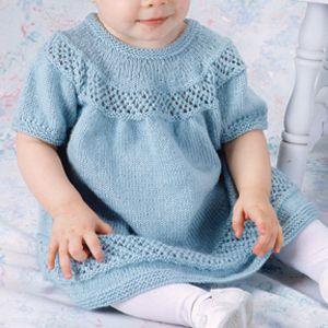 Leisure Arts - Lace Trellis Baby Dress Knit Pattern ePattern, $4.99 (http://www.leisurearts.com/products/lace-trellis-baby-dress-knit-pattern-digital-download.html)