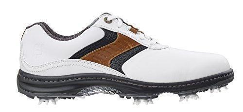 Oferta: 169€ Dto: -14%. Comprar Ofertas de FootJoy Contour Series - Zapatos de golf para hombre, color blanco / azul real / antracita, talla 41(W) barato. ¡Mira las ofertas!