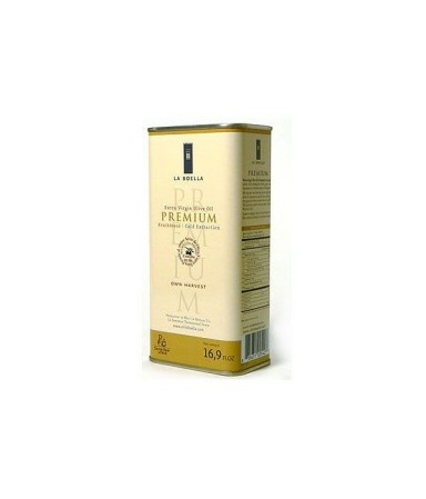 Aceite Arbequina La Boella (Tarragona) - lata 250 ml.