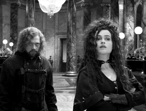 Ron & Bellatrix.