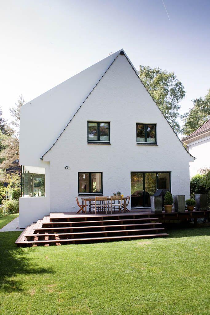 eins:eins architekten hamburg – Anbau an ein Siedl…