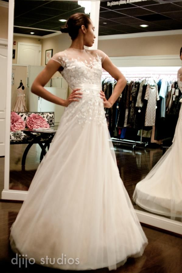 kevan hall wedding gown, 4.2013