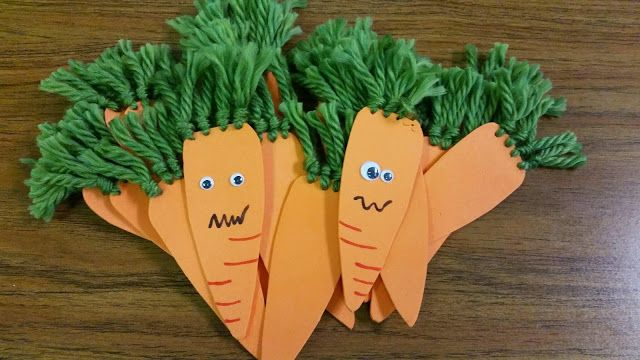 Misadventures Of A Ya Librarian Creepy Carrot Craft