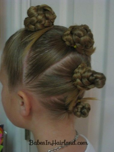 So going to do this for crazy hair day at school tomorrow