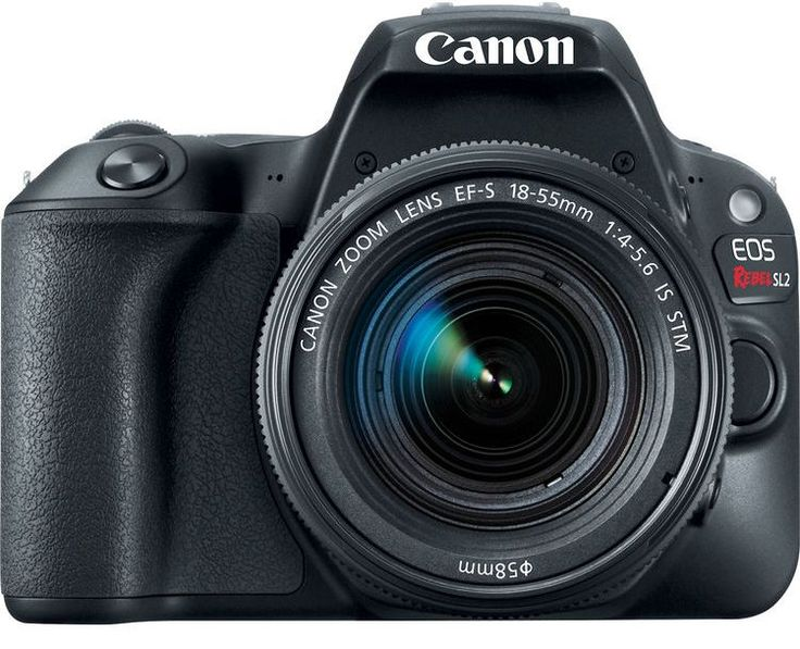 Canon releases EOS Rebel SL2 an entry-level DSLR with improved sensor