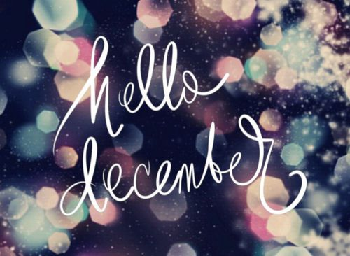Hello December! Christmastimes a coming!  found on ilovethispic.com