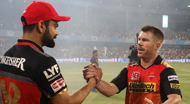 """Hyderabad: David Warner says he remains good friends with Virat Kohli despite a bitterly fought Test series which ended with the Indian captain saying that he was no more friends with the Australian cricketers. Warner had a chat with Kohli during the IPL inaugural ceremony here. """"Ya. I had..."""