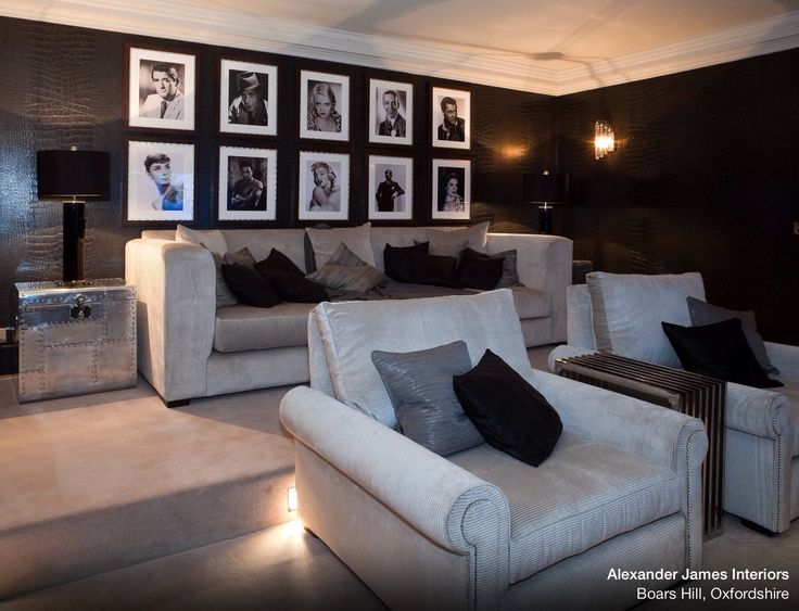 Fresh Basement theatre Room Ideas