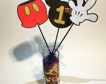 Mickey-Mouse Herzstück / Baby Mickey von mariscraftingparty auf Etsy