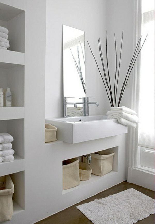 viac ako 25 najlepších nápadov na pintereste na tému badezimmer ... - Körbe Für Badezimmer