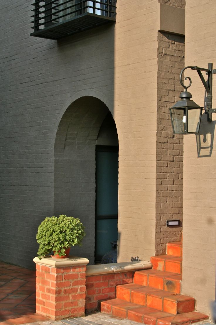 Arched doorway