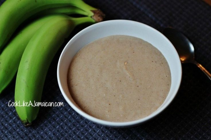 Jamaican Green Banana Porridge Recipe | Cook Like a Jamaican