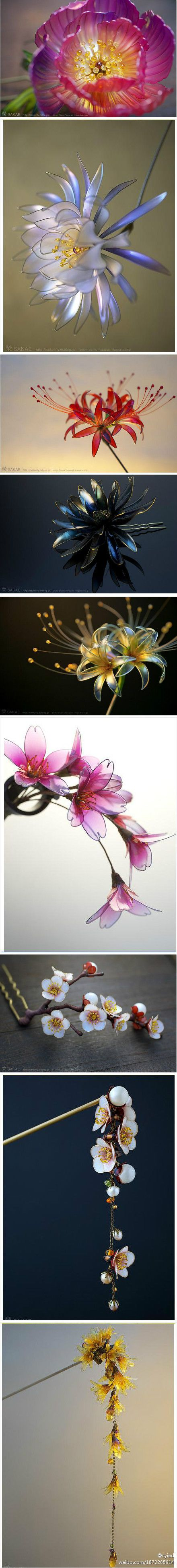 20120110102307_YBmL2.jpg (440×3895).      Just shape some wire, add nail polish of your choice, assemble how you want, and, voilà!                                                                                                                                                      More