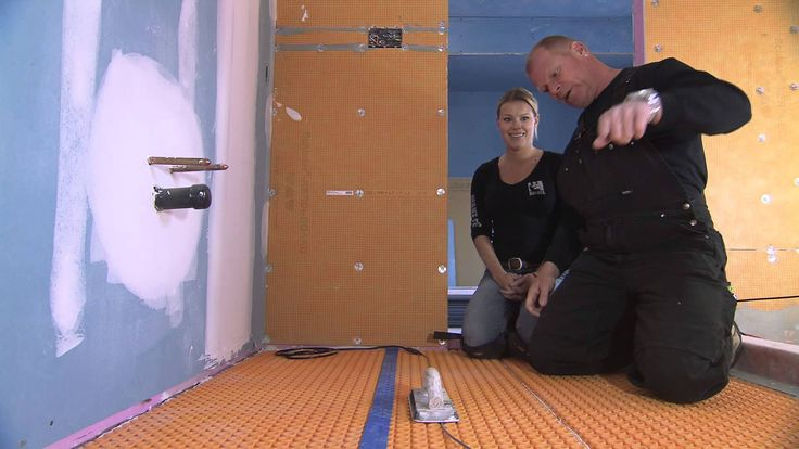 Mike Holmes On Schluter 174 Ditra Heat Bathrooms
