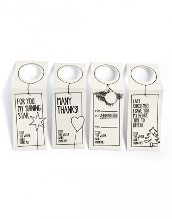 hangtags! makes each product a lovely gift!