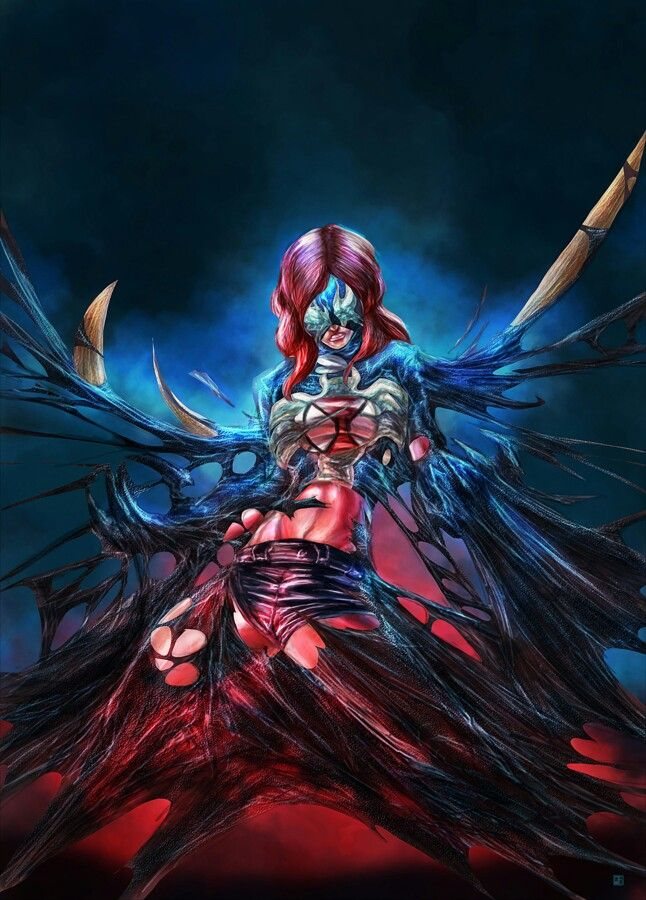 Marvel Women vs The Venom Symbiote | Mary Jane •Eric ... | 646 x 900 jpeg 103kB